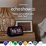 Certified Refurbished Echo Show 5 – Compact smart display with Alexa