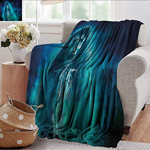 Xaviera Doherty Soft Cozy Throw Blanket Halloween,Gothic Ghost Super Soft and Warm,Durable Throw Blanket 60