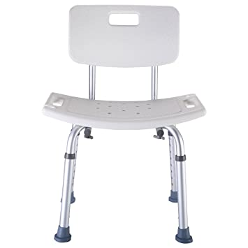 Attractive Super Buy 8 Height Adjustable Medical Shower Bath Chair Bathtub Stool  Detachable Backrest