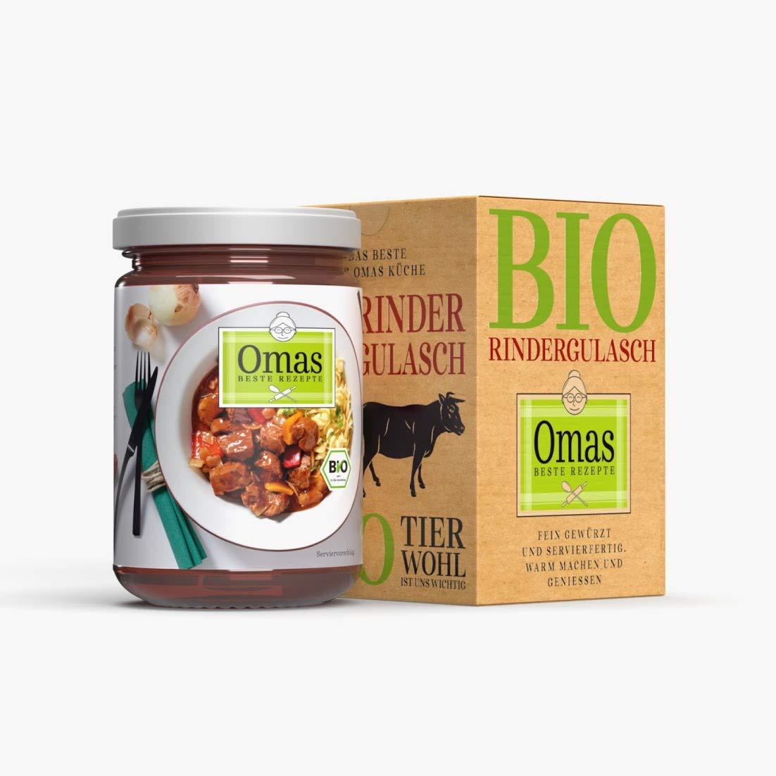 Omas beste Rezepte: Bio Rindergulasch