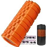 フォームローラー 筋膜リリース KOOLSEN グリッドフォームローラー ヨガポール トレーニング スポーツ フィットネス ストレッチ器具
