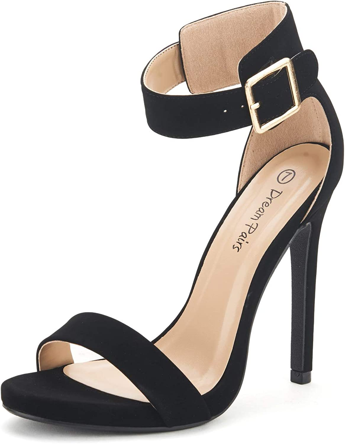 DREAM PAIRS Women's Ankle Philadelphia Mall Strap Special price Sandals Heel Pumps
