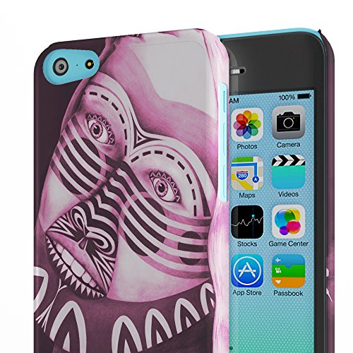 Koveru Back Cover Case for Apple iPhone 5C - Power puff girl