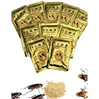 Generic 10 pcs Effective Cockroach Killing Bait Powder Cockroach Repeller Killer Anti Pest Cockroach Powder Pest Control…