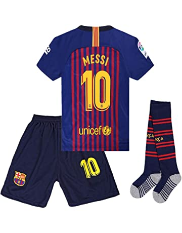 seryhr-tx Messi 10 Barcelona Home Kids Socce Jersey 2018 2019  Season.Matching 180851997