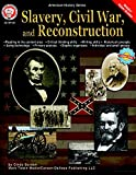 Mark Twain CD-404139 American History Series Slavery, Civil War, and Reconstruction, 0.3