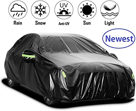 Car Cover Compatible With Mazda CX-3 CX-30 CX-5 CX-7 CX-9 All-weather Waterproof And Durable Anti-scratch Protect Car Paint Color : Silver, Size : CX-30
