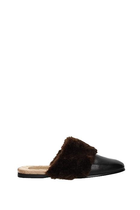 Zapatillas y Zuecos Gucci Hombre - Piel (5242979RO30) EU: Amazon.es: Zapatos y complementos