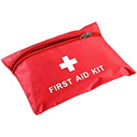 Haofan First Aid Kit 13 Kinds Medical Emergency Bag with Zipper,Waterproof Compact Bag Emergency Survival Kits for Home…