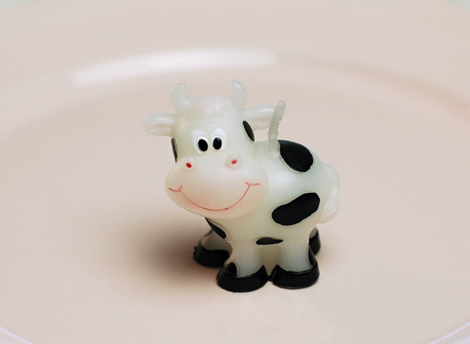 Cartoon Zodiac Taurus Cattle Charming Gifts Party Candles Smokeless Candles Birthday Candles for Baby Shower and Wedding Favor Keepsake Favor (10)