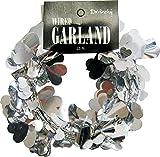 SKD Distribution Heart Garland, 25, Silver