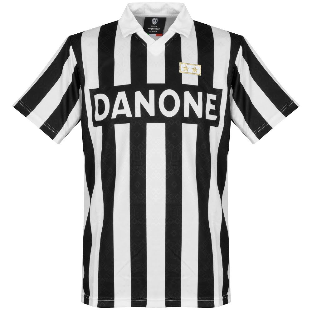 Club Licensed 1993 Juventus UEFA Cup Finale Retro Trikot
