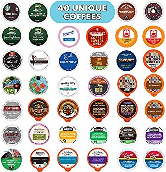 Crazy Cups 40 Count Single Serve Pods Coffee Variety Pack