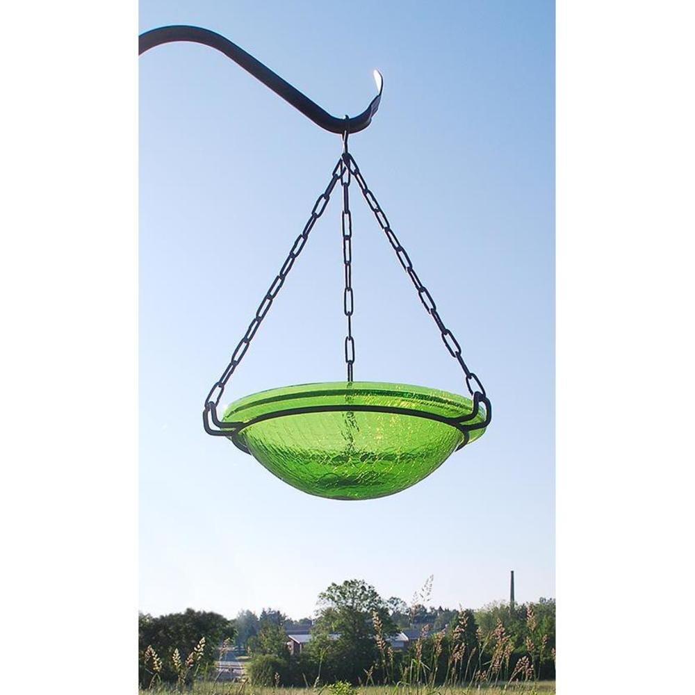 Achla Designs Fern Green Hanging Birdbath
