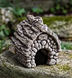 Campania International S-406-NA Toad House Statue, Natural Finish For Sale