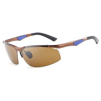 4f1516b07ba HDCRAFTER 2016 Mens Designer Driving Sunglasses Fishing Golf Polarised  Glasses  Amazon.co.uk  Clothing