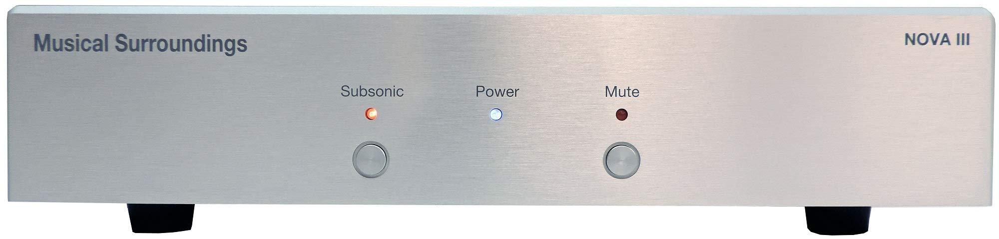 Musical Surroundings Nova III Dual-Mono Phono Preamplifier (Silver)