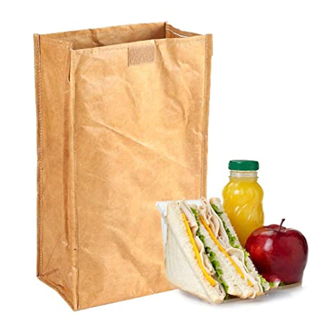 Amazon.com: Taimot Kraft Washable Paper Bags Of Kraft Paper ...