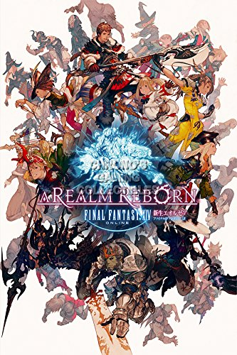 "CGC Huge Poster - Final Fantasy XIV A Realm Reborn PS3 PS4 XBOX 360 PC - FXIV006 (24"" x 36"" (61cm x 91.5cm))"