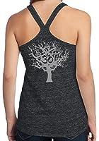 Ladies OM Tree of Life T-back Tank Top
