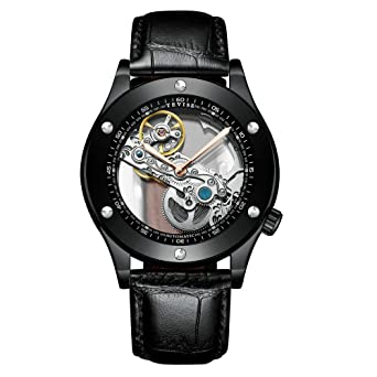 Mecánico Suiyouyu Relojes CasualesReloj Automático Tevise xBoeCrd