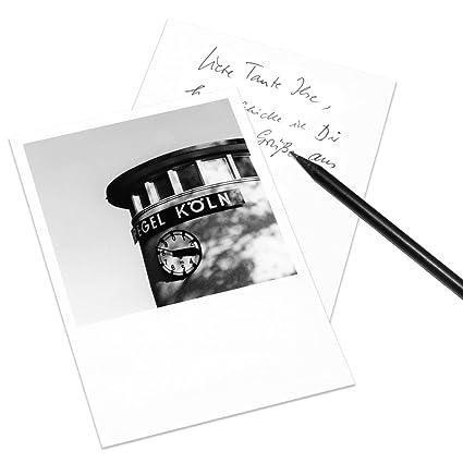 Juego de 5 tarjetas postales Colonia en el estilo de Polaroid - retrato DIN A6 -