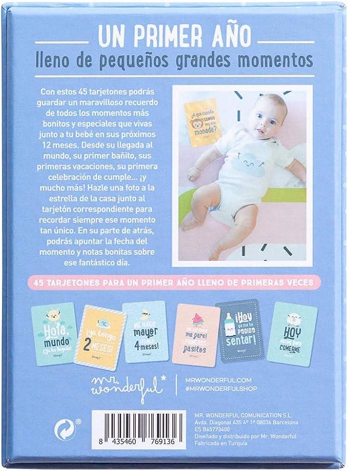 Babykarten Fotos und Momente aus meinem ersten Jahr.
