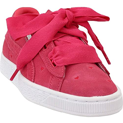 Puma Suede Platform Junior Sneakers Casual Pink Girls