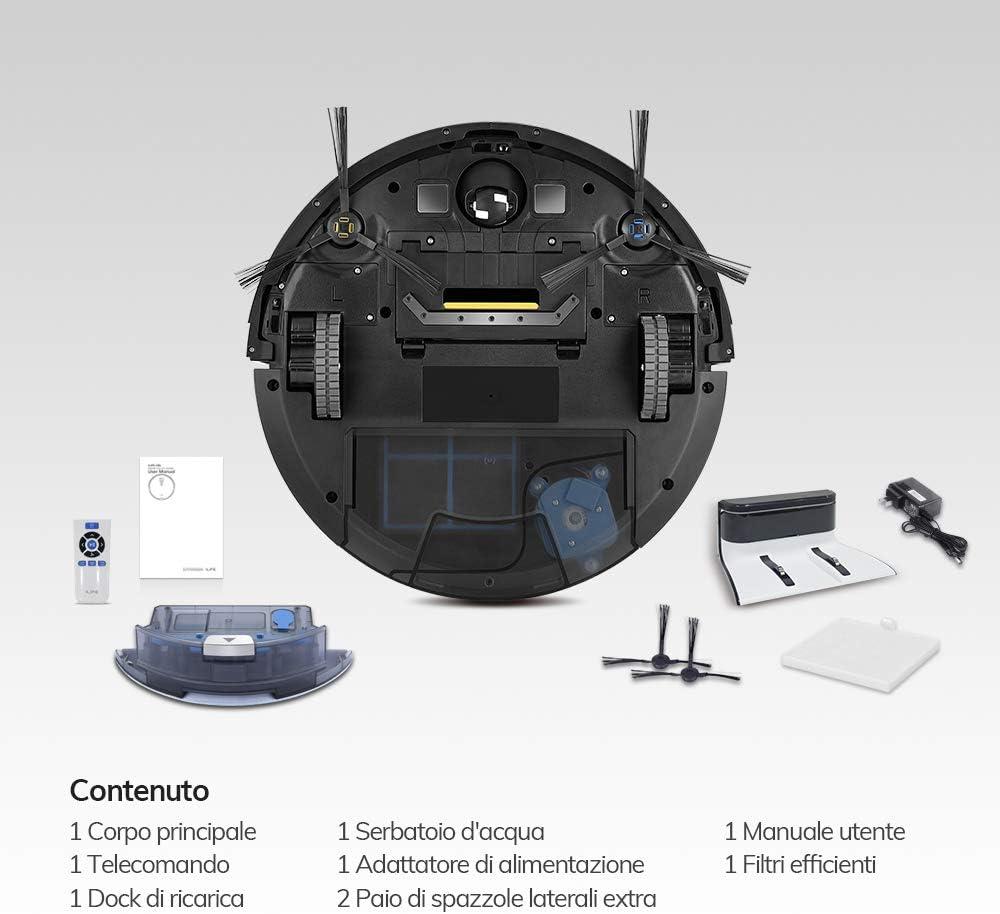 ILIFE ILIFE003-IT ILIFE0005-ES Aspirador V8s Robot Piso de Barrido ...