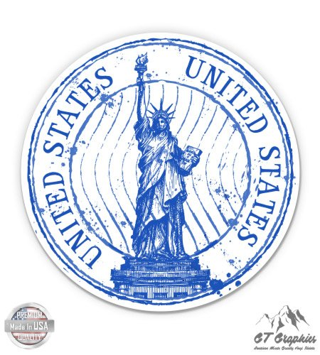 Amazon United States Statue Of Liberty New York Travel Stamp
