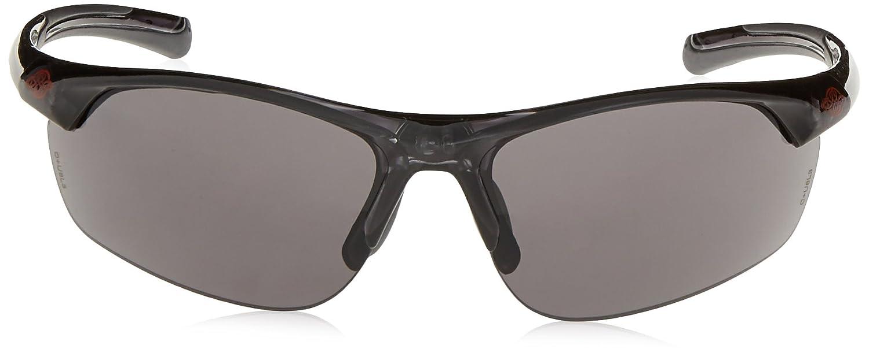AR3 Crossfire Safety Glasses Super Dark Smoke Lens Crystal Black Frame 16428 Radians