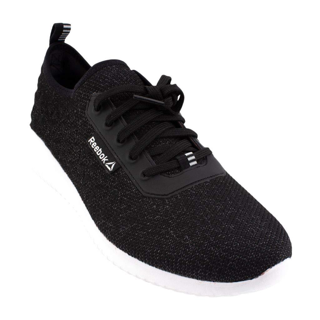 Reebok Boy's Furylite Graphic Sneaker, Black/White,