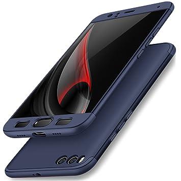 360 Full Body Funda Xiaomi Mi6 Case, Vandot Carcasa 3 in 1 Todo Incluido Duro Tapa Anti-rasguños Mate PC Cuerpo Completo Protector Anti-Scratch ...