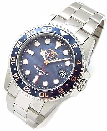 4bf0db19cd TECHNOS SPECIAL EDITION テクノス メンズ腕時計 ダイバーズウォッチ 回転ベゼル 10気圧防水 天然シェルダイヤル