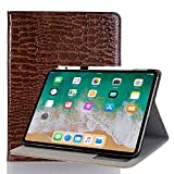Case Cover Compatible with 2018 iPad Pro 12.9,INorton 12.9 inch Pro Stand Protective Cover with Card Slot,Lightweight Slim Shockproof Sleeve PU Leather for Pro 12.9