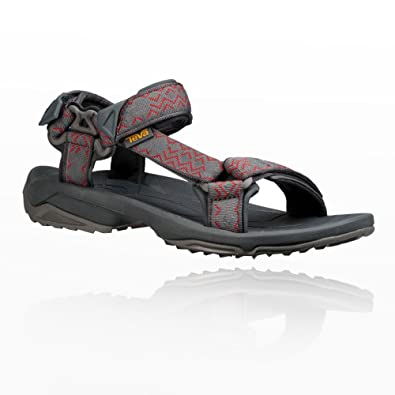 Teva Terra FI Lite Leather Sandalen Women - black - US 7 - Gr.38 y53qaZg