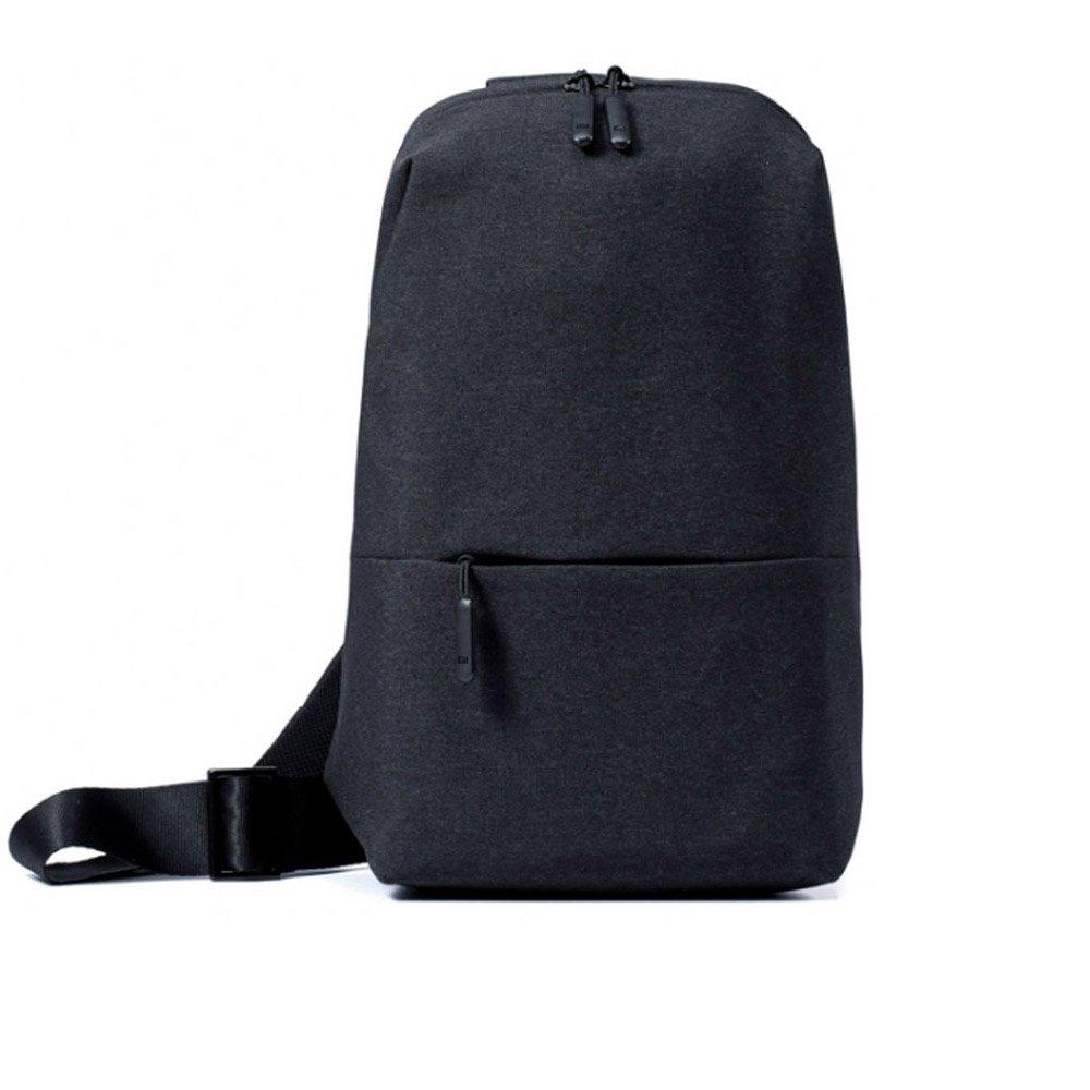 Xiaomi Sling Chest Bag Waterproof Shoulder Bag Urban Leisure Sport Backpack Unisex Rucksack ( Darkgray )