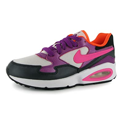 73631a335d Nike Kids Air Max ST Junior Girls Trainers White/Pink UK 4 (36.5):  Amazon.co.uk: Shoes & Bags