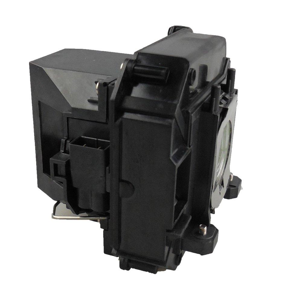kompatibel mit EPSON Elplp64 MEHRWEG Fit f/ür EB-1840W // EB-1850W // EB-1860 // EB-1870 // EB-1880 // EB-D6155W // EB-D6250 // EB-C720XN // EB-C1030WN Supermait EP64 Ersatzprojektorlampe mit Geh/äuse