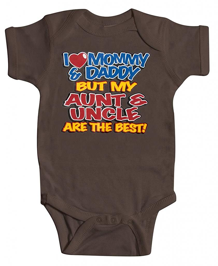 Gravity Trading Baby Aunt & Uncle Bodysuit