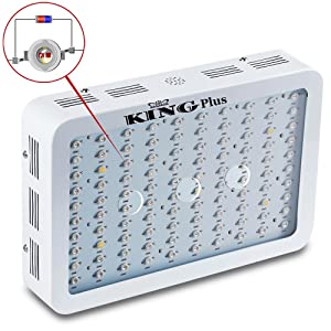 King Plus 1000w Double Chips LED Grow Light Full Specturm