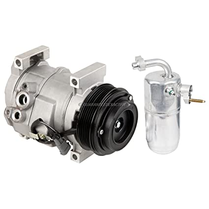 Amazon com: AC Compressor w/A/C Drier For Chevy Silverado & GMC