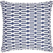 """Pine Cone Hill Links Indigo 26"""" Decorative Pillow"""