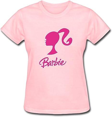 Cedric Fordosr WomenS Barbie Logo T Shirt: Amazon.es: Ropa y accesorios