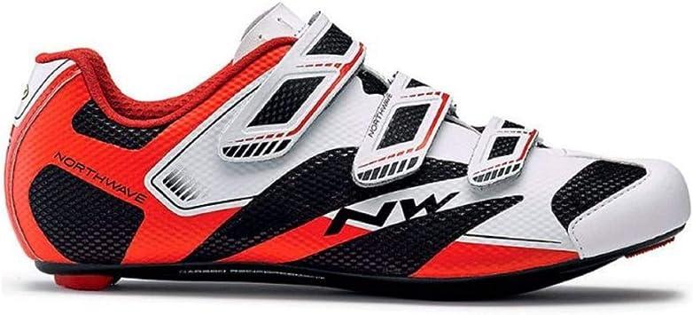 Zapatillas para bicicleta Sonic 2 de Northwave, blancas, negras y ...