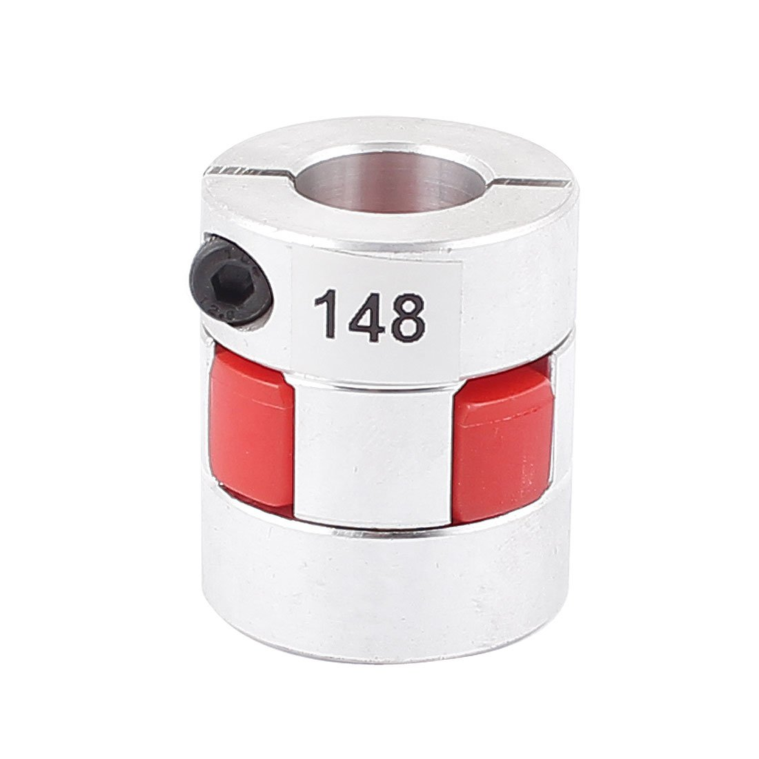 uxcell 15mm x 15mm CNC Jaw Spider Plum Coupling Shaft Coupler D 30mm L 35mm