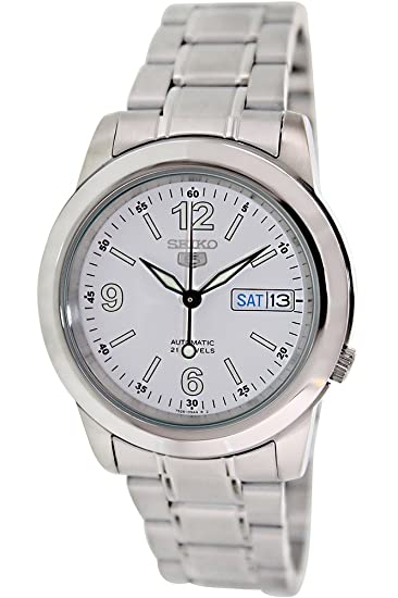 Reloj Seiko 5 Gent SNKE57K1 - Analógico Automático para Hombre en Acero inoxidable: Amazon.es: Relojes