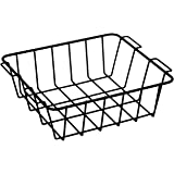 Meadowcraft Basket, Black, 45 quart