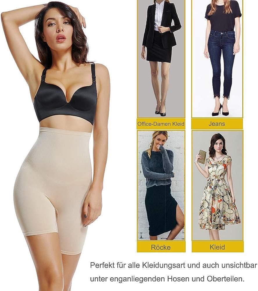 Joyshaper Damen Hohe Taille Unterhose Bauch Weg Miederhose Tummy Control Miederpants Miederslip Nahtlose Unterw/äsche Shapewear Body Shaper Perfekt f/ür Alle Art von Bekleidung