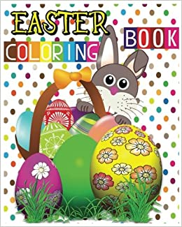 Easter Coloring Book Eggs Jumbo Sophia Smith 9781539683742 Amazon Books